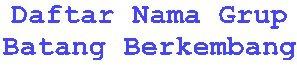 Daftar Nama Facebook Anak Batang