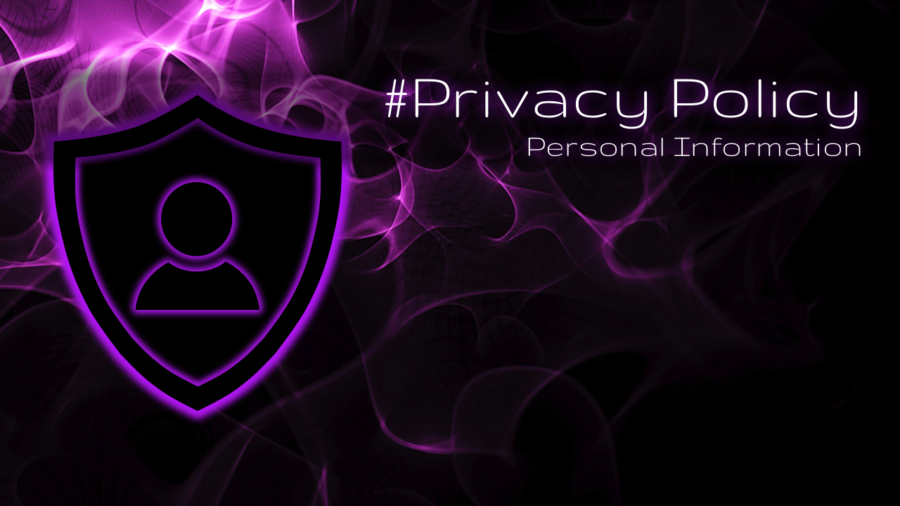 Privacy Policy and Personal Information