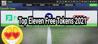 Free Token Top Eleven 2021