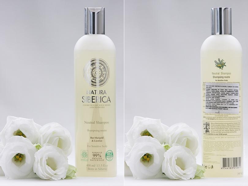 Neutralny szampon do wrażliwej skóry głowy Natura Siberica
