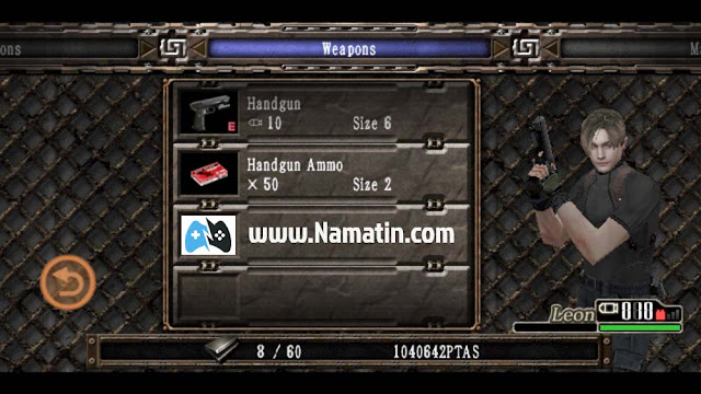 mod resident evil 4 android unlimited money