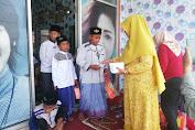 Rayakan 1 Muharram, Pemilik Salon Kecantikan di Petarukan Pemalang Santuni Yatim Piatu