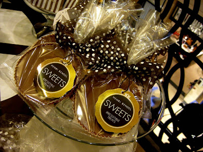 Peanut Butter Cups at The Bendel Snack Bar at Henri Bendel in New York, NY - Photo by Taste As You Go