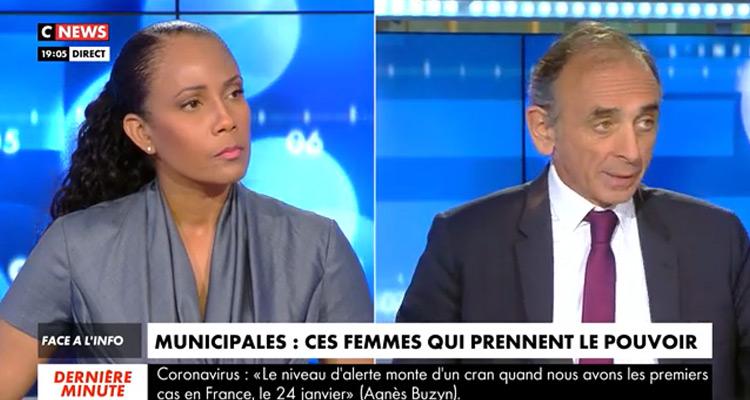 .Face à l'info : Eric Zemmour «justifie le succès des femmes aux Municipales!»