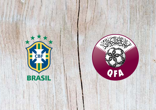 Brazil vs Qatar Full Match & Highlights 6 June 2019