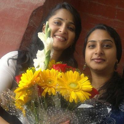 Anushka Sheety with surekha