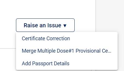 add passport details cowin.gov.in