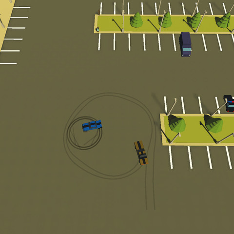 Car Chase and Drift Template Unity Assets - Game Art 3D