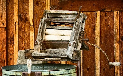 Lavadora antigua