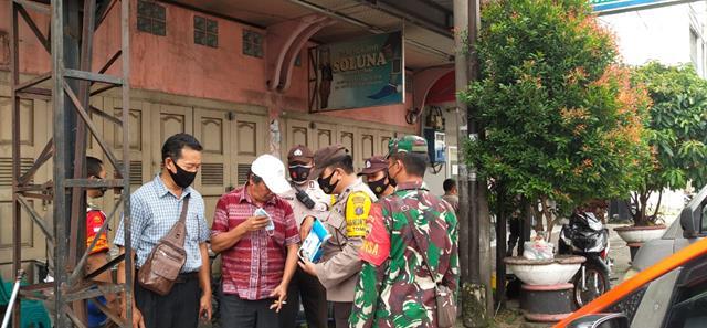 Diwilayah Pematang Siantar Operasi Yustisi Dilakukan Personel Jajaran Kodim 0207/Simalungun Bersama Dinas Terkait