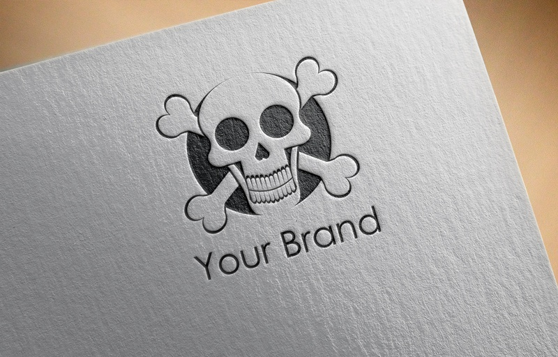 Download Free Skull Head Logo for Business