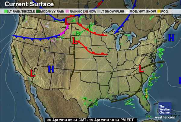 HD Decor Images » us surface weather map archive   28 images   whether the weather     us