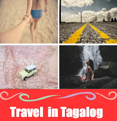 Travel Vocabulary : Word List in Tagalog
