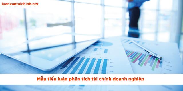 tiểu luận phân tích tài chính doanh nghiệp