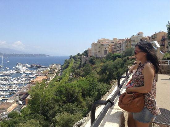 Pesona diketinggian Monaco dan laut monaco
