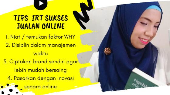 tips sukses IRT jualan online brand sendiri