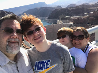 David Brodosi and family travel to the grand canyon