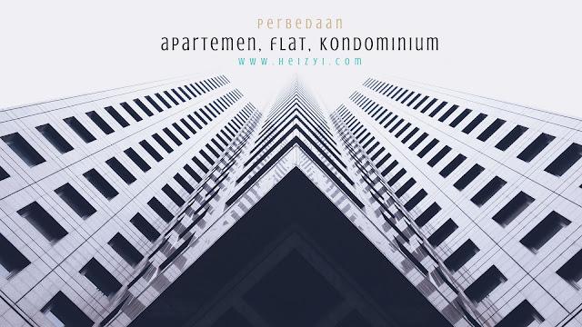 perbedaan apartemen, flat dan kondominium