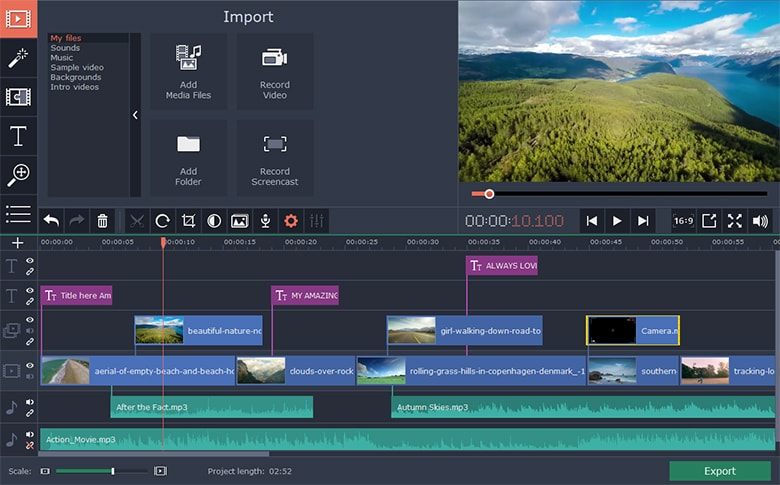 Movavi Video Editor 15 Plus v15.0.1 Full version