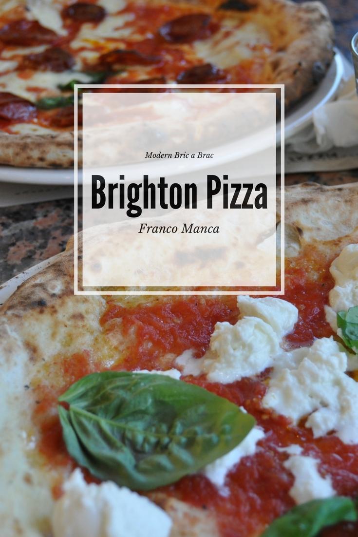Foodie Friday - Franco Manca Brighton Marina, photo by modern bric a brac