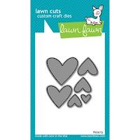 Lawn Fawn HEARTS Lawn Cuts Dies