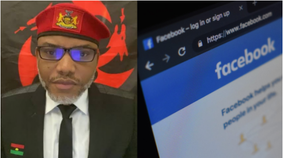 IPOB reacts as Facebook blocks Nnamdi Kanu