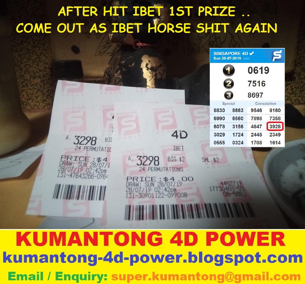 4d Ibet Winning Prize Money