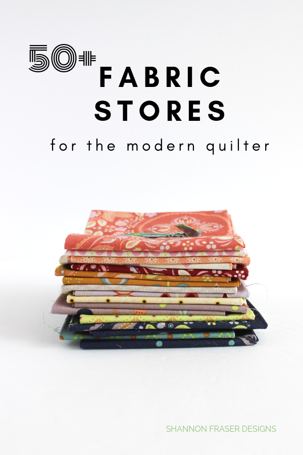 Forest Fables Fat Quarter Bundle | 50+ Fabric Shops for modern quilters | Shannon Fraser Designs | #fabric #shopping #quilting