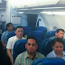 """Netizen posts image of Duterte flying economy, """"If he can, why can't Leni?"""""""