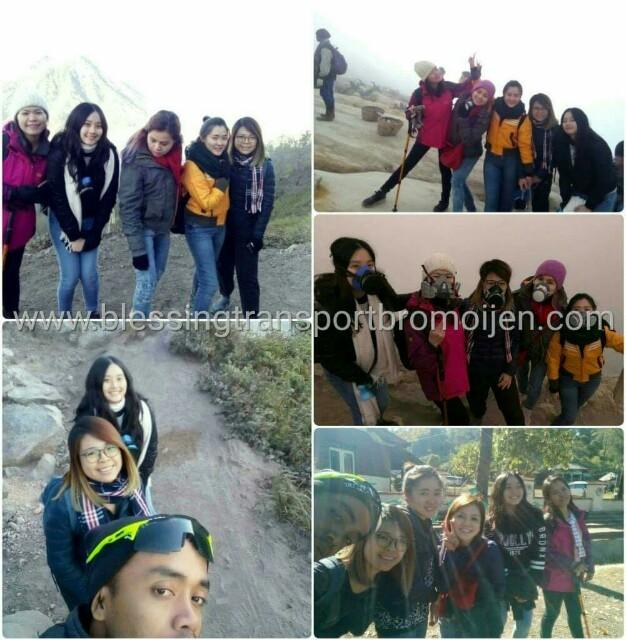Ang Kai Lee group (SG), transport Surabaya-Bromo-Ijen tour. 1st-4th October, 2018.
