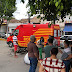 Acidente entre carro e moto deixa um homem ferido na Praça do Padre Cícero em Belo Jardim, PE