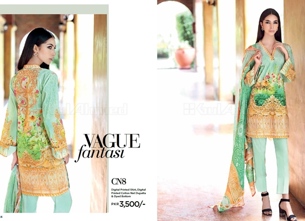 Gul Ahmed Latest Winter Dresses Collection 2017-2018
