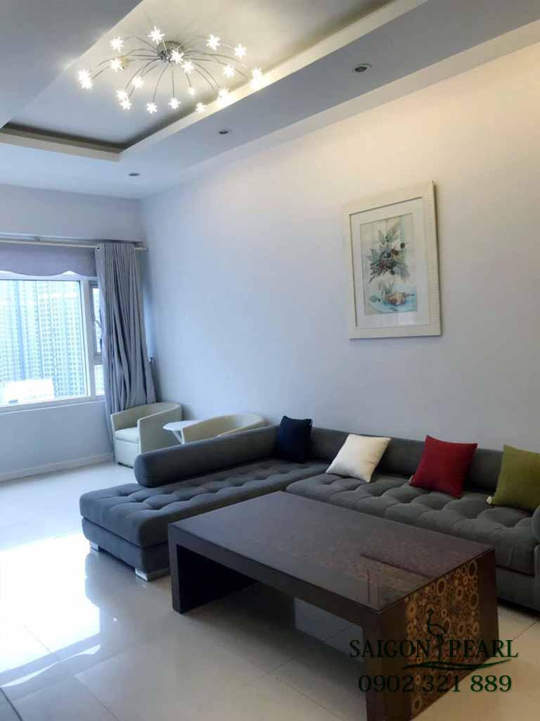 Saigon Pearl Topaz 1 cho thuê gấp căn hộ cao cấp 3 phòng ngủ - hình 2