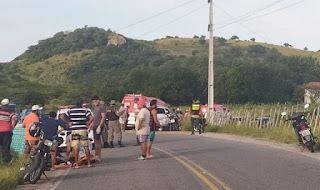 Idoso morre e mais 3 pessoas ficam feridas em grave acidente no Brejo