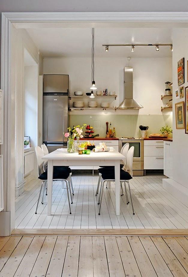 Desain Interior Dapur Dan Ruang Makan Gaya Eropa  Desain