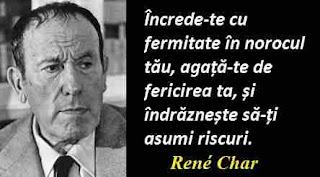 Maxima zilei: 14 iunie - René Char