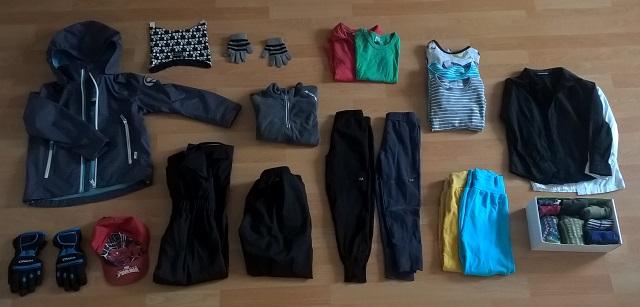 kuinka paljon lapsi tarvitsee vaatteita
