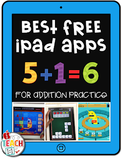 Best FREE addition apps & activities for kids to use on the iPad. Teachers, make addition practice fun and hands on for your students by adding a technology twist! Also check out these engaging digital and QR code activities for your math centers.