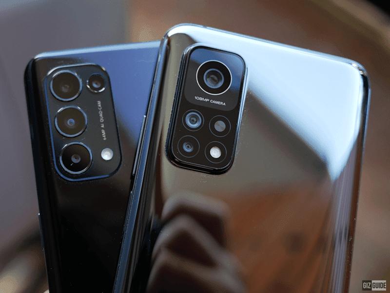 64MP quad-cam vs 108MP triple-cam