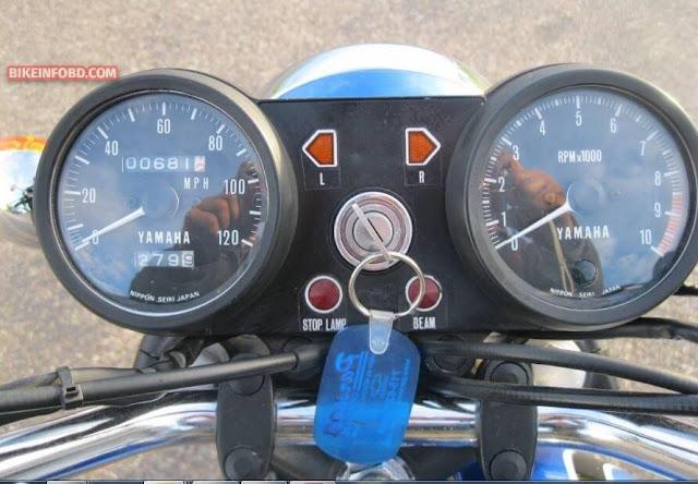 Yamaha RD250 SpeedoMeter