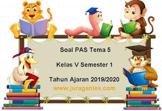 Contoh Soal PAS / UAS Tema 5 Kelas 5 SD/MI Semester 1 K13 Terbaru 2019/2020