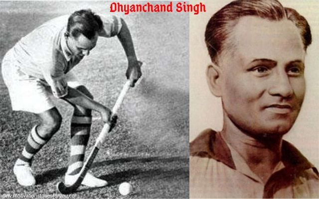 Dhyanchand inspirational story in hockey sport