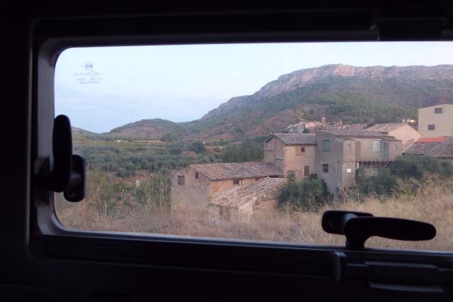 La Vilella Baixa des de l'autocaravana