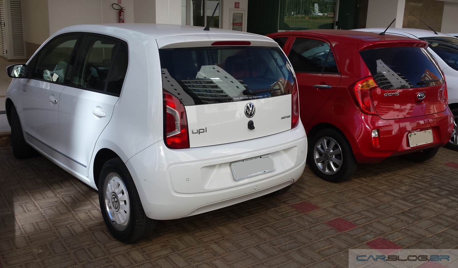 Volkswagen up! I-Motion - consumo