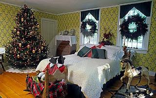 Cómo decorar dormitorio en Navidad