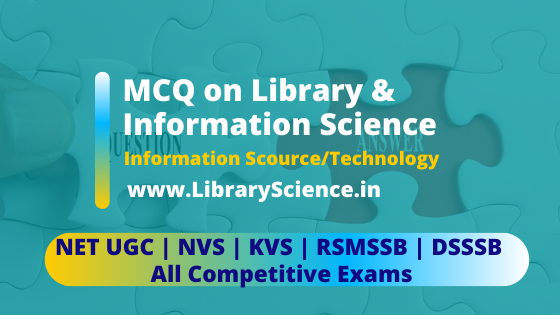 MCQ on Library Science