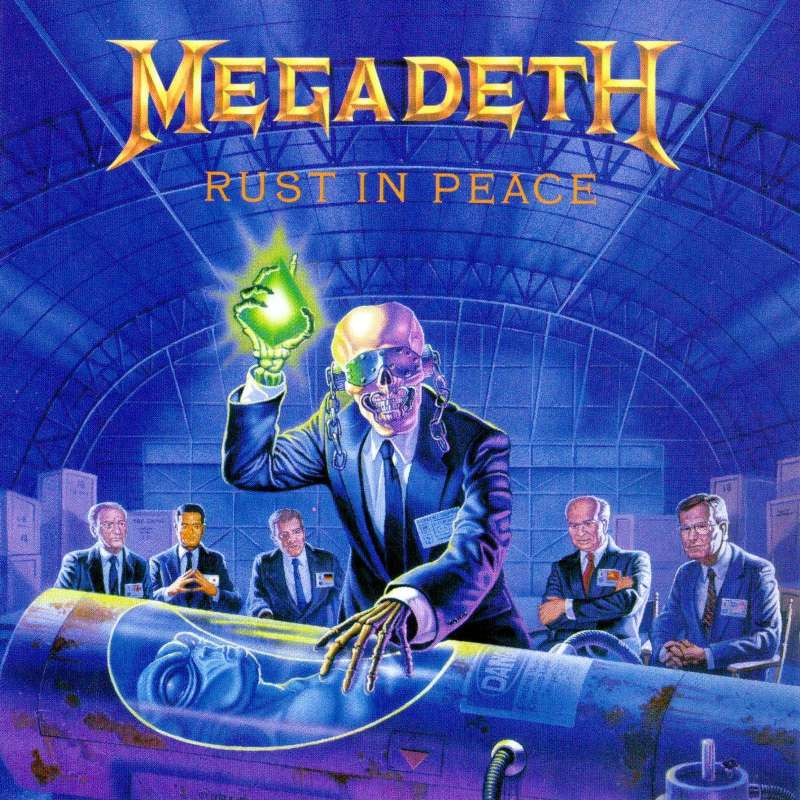 Tornado of souls. Rust in peace. Megadeth