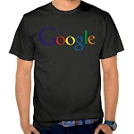 Kaos Distro Pria  Google SK55 Asli Cotton