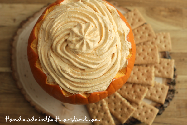 Easy Pumpkin Pie Dip