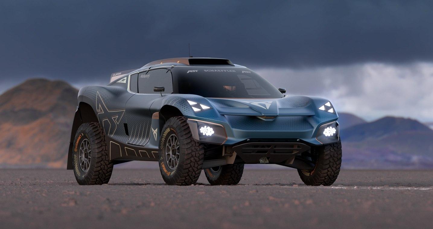 كوبرا تافاسكان إكستريم إي كونسبت Cupra Tavascan Extreme E Concept